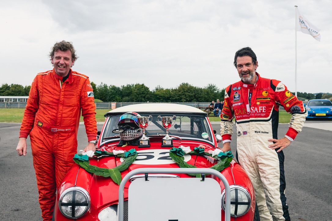 First outing P1 win for Historic Team CarSafe Healey